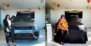 Boity Thulo Car Range Rover Lumma CLR RS