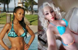 Khanyi Mbau before and after picture gets South Africa talking